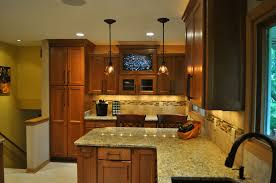 kitchen design ideas brass pendant light rectangular contemporary