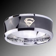 batman mens wedding ring 77 best superman jewelry images on tungsten carbide