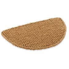 Half Moon Doormat Laurel Foundry Modern Farmhouse Cordie Basket Weave Doormat