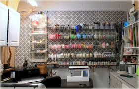 cool pegboard craft and sewing room decoration with pegboard