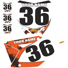 ama pro motocross numbers sample product number plate kit all models pro style mx