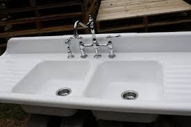 drop in kitchen sink with drainboard drop in kitchen sink with drainboard apoc by elena vintage