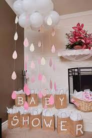 Baby shower rain drops …
