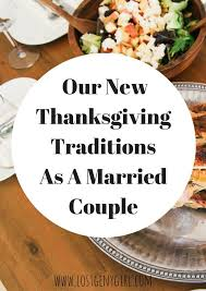 our new thanksgiving traditions as a married y