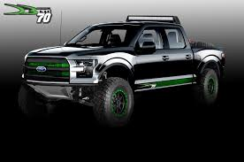 Ford Raptor Truck Cap - tensema16 ford shows off custom super duty raptor and transit