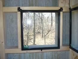 nice hunting blind window kits blynd conversion kit 0 home design