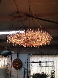 Wire Chandelier Diy Interesting Outdoor Chandelier Diy Diy Outdoor Chandelier How To