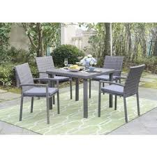 wicker outdoor dining sets shop the best patio furniture deals