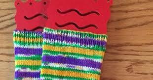 mardi gras socks rhythm of the needles ready for mardi gras