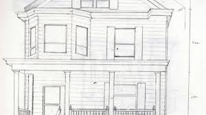house pencil sketch 2d works little black sheep is black page 3