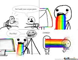 Rainbow Meme - rainbow meme new meme by portal23555 meme center
