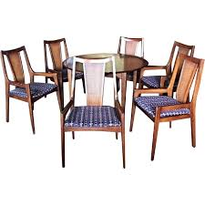 8 Pc Dining Room Set Ethan Allen Medallion 8 Piece Dining Room Set Aptdeco