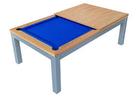 slate bed pool dining table