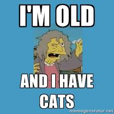 Cat Lady Meme - i m old and i have cats crazy cat lady simpsons meme generator