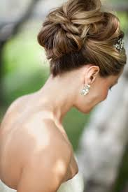 Elegant Chignon Hairstyle by 193 Best Wedding Day Hair Images On Pinterest Hairstyles Make