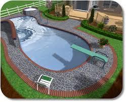 small backyard inground pool design outstanding ground swimming