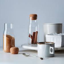 glass u0026 cork canisters set 2 on food52