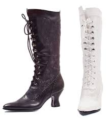 s boots lace ellie 253 s pointy toe lace up mid calf chunky boot