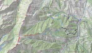 Goo Map Wedge Mountain U2014 Washington Trails Association