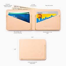 card pockets cross pocket wallet leather ugmonk