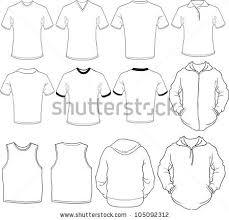 long sleeve t shirt template vector download free vector art