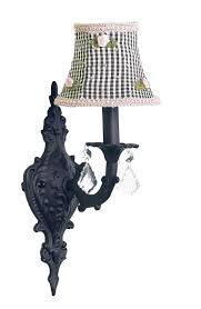 Sconces With Shades Shabby Chic Chandeliers