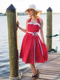 sailor dresses nautical dresses pin up 4th of july dress