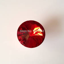 10pcs 25mm red glass cabinet knobs cabinet cupboard closet drawer