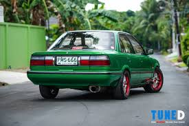 toyota corolla ae90 all grown up the small ae92 toyota corolla tuned