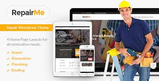 Home Renovation Websites Repairme Construction U0026 Renovation Theme By Ancorathemes