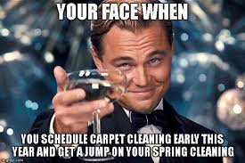 Carpet Cleaning Meme - happy birthday imgflip