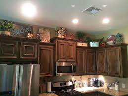 Design Ideas For Kitchen Cabinets Above Kitchen Cabinets Decor Awesome Pinterest Kitchen
