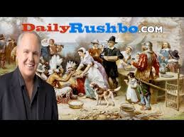 limbaugh tells the true story of thanksgiving 2016