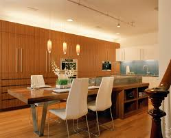Kitchen Island And Table Michael Tauber Architecture