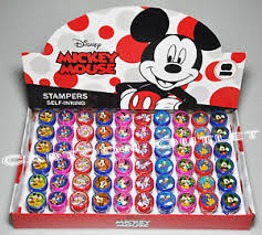 mickey mouse gift bags 24 pc mickey mouse stampers minnie party favors f candy bags gifts