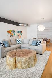 Wood Stump Coffee Table The Coolest New Decorating Trend 18 Great Tree Stump Decor Ideas