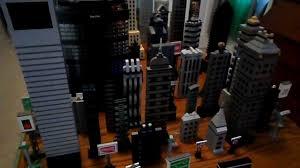 lego new york city skyline manhattan buildings youtube