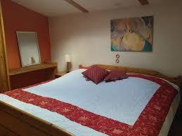 Schlafzimmerblick Spanisch Kastanienhof Alvern Studio 1 Fewo Direkt