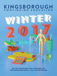 continuing education winter 2017 catalog by kingsborough office