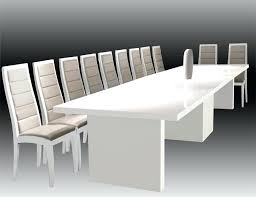 White Meeting Table Modern Conference Table White Modern Conference Table 3d Model