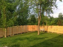 Backyard Fencing Ideas Fence Dog Fence Ideas Install Awesome How To Install Invisible