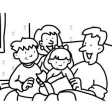 Small Family Coloring Page Kids Drawing And Coloring Pages Small Coloring Pages