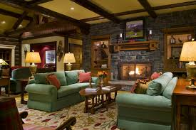 living rooms comfortable rustic living room with rustic table