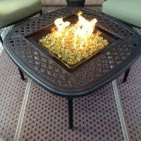 Diy Glass Fire Pit by Clean Burning Outdoor Firepits Propane Burner Authority And