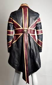 union jack halloween costume union jack mens leather diamond jubilee exclusive steampunk tail