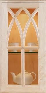 custom glass cabinet doors cabinets showplace gothic mullion doors stuff to buy pinterest