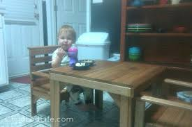 montessori table and party in the kids u0027 kitchen