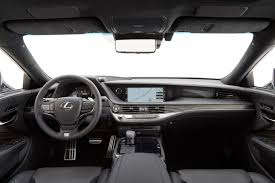 lexus wagon interior 2018 lexus ls f sport pack revealed looks performancedrive