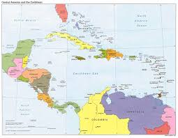 Map Dominican Republic Maps Caribbean