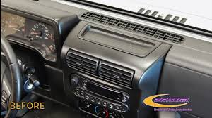wood panel jeep wrangler daystar products 1997 2006 jeep wrangler tj upper dash panel